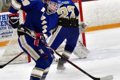 CIACT Ice Hockey D3 QFs; #1 Hand 5 vs. #8 Newtown 0 - Photo # 409