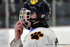 CIACT Ice Hockey D3 QFs; #1 Hand 5 vs. #8 Newtown 0 - Photo # 415