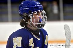 CIACT Ice Hockey D3 QFs; #1 Hand 5 vs. #8 Newtown 0 - Photo # 416