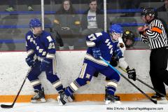 CIACT Ice Hockey D3 QFs; #1 Hand 5 vs. #8 Newtown 0 - Photo # 428