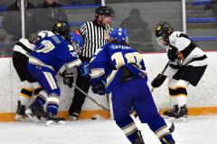 CIACT Ice Hockey D3 QFs; #1 Hand 5 vs. #8 Newtown 0 - Photo # 430