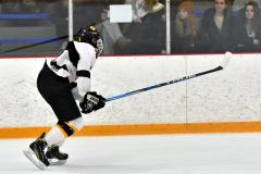 CIACT Ice Hockey D3 QFs; #1 Hand 5 vs. #8 Newtown 0 - Photo # 442