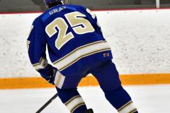 CIACT Ice Hockey D3 QFs; #1 Hand 5 vs. #8 Newtown 0 - Photo # 460