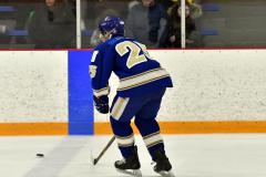 CIACT Ice Hockey D3 QFs; #1 Hand 5 vs. #8 Newtown 0 - Photo # 461