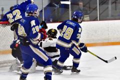 CIACT Ice Hockey D3 QFs; #1 Hand 5 vs. #8 Newtown 0 - Photo # 479