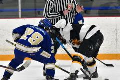 CIACT Ice Hockey D3 QFs; #1 Hand 5 vs. #8 Newtown 0 - Photo # 485