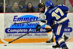CIACT Ice Hockey D3 QFs; #1 Hand 5 vs. #8 Newtown 0 - Photo # 506