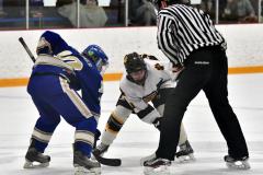 CIACT Ice Hockey D3 QFs; #1 Hand 5 vs. #8 Newtown 0 - Photo # 514