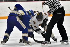 CIACT Ice Hockey D3 QFs; #1 Hand 5 vs. #8 Newtown 0 - Photo # 517