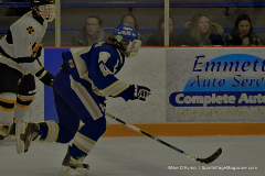 CIACT Ice Hockey D3 QFs; #1 Hand 5 vs. #8 Newtown 0 - Photo # 524