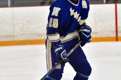 CIACT Ice Hockey D3 QFs; #1 Hand 5 vs. #8 Newtown 0 - Photo # 533