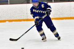 CIACT Ice Hockey D3 QFs; #1 Hand 5 vs. #8 Newtown 0 - Photo # 537