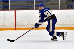 CIACT Ice Hockey D3 QFs; #1 Hand 5 vs. #8 Newtown 0 - Photo # 545