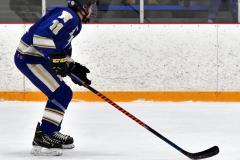 CIACT Ice Hockey D3 QFs; #1 Hand 5 vs. #8 Newtown 0 - Photo # 554
