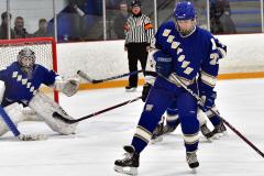 CIACT Ice Hockey D3 QFs; #1 Hand 5 vs. #8 Newtown 0 - Photo # 558