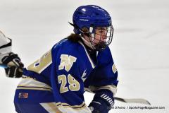 CIACT Ice Hockey D3 QFs; #1 Hand 5 vs. #8 Newtown 0 - Photo # 578