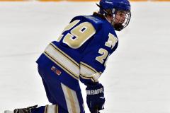CIACT Ice Hockey D3 QFs; #1 Hand 5 vs. #8 Newtown 0 - Photo # 580