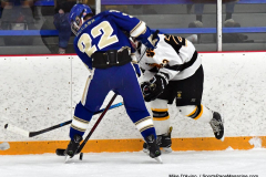 CIACT Ice Hockey D3 QFs; #1 Hand 5 vs. #8 Newtown 0 - Photo # 600