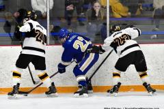 CIACT Ice Hockey D3 QFs; #1 Hand 5 vs. #8 Newtown 0 - Photo # 602