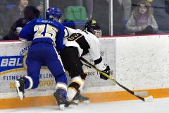 CIACT Ice Hockey D3 QFs; #1 Hand 5 vs. #8 Newtown 0 - Photo # 626