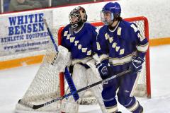CIACT Ice Hockey D3 QFs; #1 Hand 5 vs. #8 Newtown 0 - Photo # 638