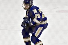 CIACT Ice Hockey D3 QFs; #1 Hand 5 vs. #8 Newtown 0 - Photo # 641