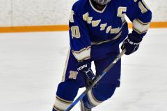 CIACT Ice Hockey D3 QFs; #1 Hand 5 vs. #8 Newtown 0 - Photo # 678