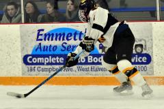 CIACT Ice Hockey D3 QFs; #1 Hand 5 vs. #8 Newtown 0 - Photo # 683