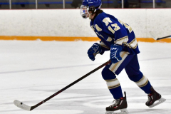 CIACT Ice Hockey D3 QFs; #1 Hand 5 vs. #8 Newtown 0 - Photo # 693