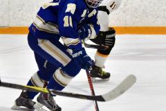 CIACT Ice Hockey D3 QFs; #1 Hand 5 vs. #8 Newtown 0 - Photo # 737