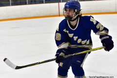 CIACT Ice Hockey D3 QFs; #1 Hand 5 vs. #8 Newtown 0 - Photo # 746