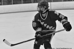 CIACT Ice Hockey D3 QFs; #1 Hand 5 vs. #8 Newtown 0 - Photo # 747