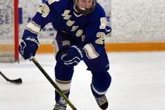 CIACT Ice Hockey D3 QFs; #1 Hand 5 vs. #8 Newtown 0 - Photo # 762
