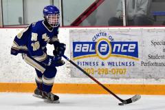CIACT Ice Hockey D3 QFs; #1 Hand 5 vs. #8 Newtown 0 - Photo # 789