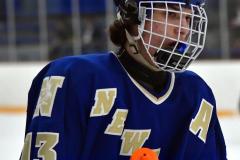 CIACT Ice Hockey D3 QFs; #1 Hand 5 vs. #8 Newtown 0 - Photo # 812