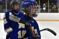 CIACT Ice Hockey D3 QFs; #1 Hand 5 vs. #8 Newtown 0 - Photo # 820