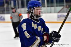 CIACT Ice Hockey D3 QFs; #1 Hand 5 vs. #8 Newtown 0 - Photo # 841