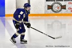 CIACT Ice Hockey D3 QFs; #1 Hand 5 vs. #8 Newtown 0 - Photo # 853