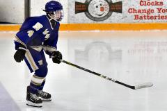 CIACT Ice Hockey D3 QFs; #1 Hand 5 vs. #8 Newtown 0 - Photo # 854