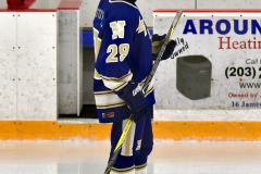 CIACT Ice Hockey D3 QFs; #1 Hand 5 vs. #8 Newtown 0 - Photo # 855
