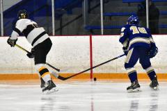 CIACT Ice Hockey D3 QFs; #1 Hand 5 vs. #8 Newtown 0 - Photo # 897
