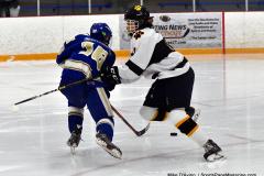 CIACT Ice Hockey D3 QFs; #1 Hand 5 vs. #8 Newtown 0 - Photo # 900