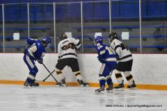 CIACT Ice Hockey D3 QFs; #1 Hand 5 vs. #8 Newtown 0 - Photo # 912