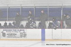 CIACT Ice Hockey D3 QFs; #1 Hand 5 vs. #8 Newtown 0 - Photo # 915