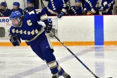 CIACT Ice Hockey D3 QFs; #1 Hand 5 vs. #8 Newtown 0 - Photo # 925