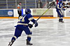 CIACT Ice Hockey D3 QFs; #1 Hand 5 vs. #8 Newtown 0 - Photo # 929