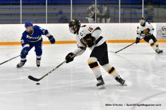 CIACT Ice Hockey D3 QFs; #1 Hand 5 vs. #8 Newtown 0 - Photo # 946