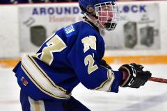 CIACT Ice Hockey D3 QFs; #1 Hand 5 vs. #8 Newtown 0 - Photo # 964