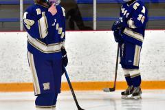 CIACT Ice Hockey D3 QFs; #1 Hand 5 vs. #8 Newtown 0 - Photo # 983