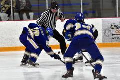 CIACT Ice Hockey D3 QFs; #1 Hand 5 vs. #8 Newtown 0 - Photo # 984